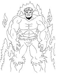 Disegno Hulk Numero 3 Da Stampare E Colorare