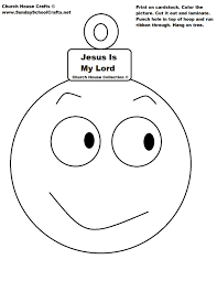 Small Picture Jesus Is My Lord Christmas Ball Ornament Cutout