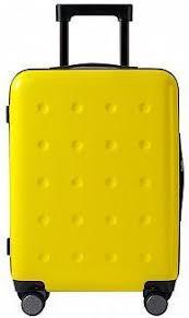<b>Чемодан Xiaomi Ninetygo Polka</b> dots 24'' Yellow — купить в ...