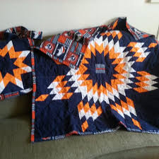 Best Broncos, Native American Star Quilt And Matching Diaper Bag ... & BRONCOS, native american star quilt and matching diaper bag. Adamdwight.com
