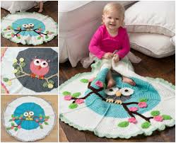 Crochet Owl Blanket Pattern Free Magnificent Wonderful DIY Gorgeous Crochet Owl Blanket