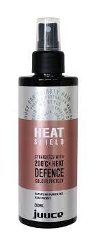 Hairjamm Colour Chart Hairjamm Juuce Heat Shield Hair Haircare Heat Defence