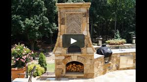 Pizza Oven Outdoor Kitchen Time Lapse Pizza Oven Outdoor Fireplace Kitchen Atlanta Ga Part