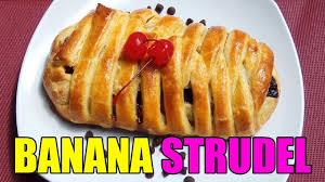 Resep Banana Strudel Cakes 43 Youtube
