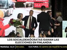 Finlandia: Partido Socialdemócrata  gana elecciones por estrecho margen