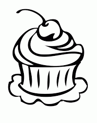 Cupcake coloring pages for adults. Coloring Pages Of Cupcakes And Cookies Coloring Home