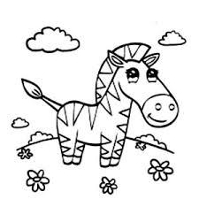 Small Picture Cute Zebra Coloring Page Cute Zebra Coloring Page Color Nimbus