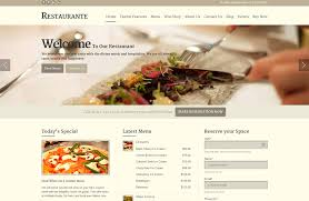Wp Restaurant Themes Restaurant Wordpress Theme Restaurante Responsive Theme 2019