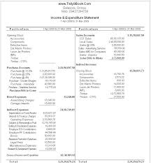 Expense And Income Template To Church Expenses Template Sample Income And Expense Statement
