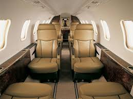 learjet 45 interior available for private charter from execflyer