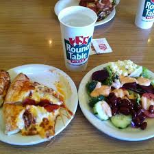 photo taken at round table pizza by christina h on 5 20 2016