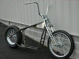 ironhead sportster bobber rolling chassis karonte s family motos