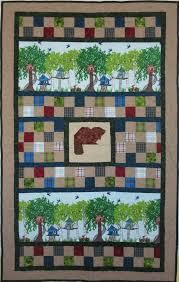 HANDMADE PATCHWORK QUILT FOR KIDS TREEHOUSE & Handmade Patchwork Quilt For Kids Treehouse. Adamdwight.com