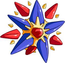 Pokemon 10121 Shiny Mega Starmie Pokedex Evolution Moves