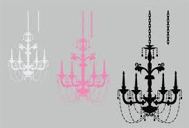 chandelier elegant beaded wall art graphic