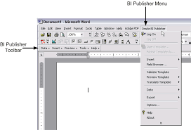Microsoft Publisher Program Template Creating Rtf Templates Using The Template Builder For Word