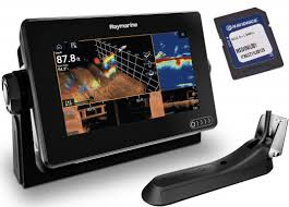 Axiom 7 With Integrated Realvision 3d Sonar Rv 100 Transducer And Navionics Download Chart