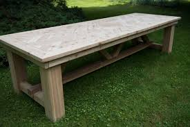 outdoor dining table patio table large