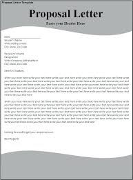 Project Proposal Cover Letters Sample Proposal Cover Letter Business Template Of Skincense Co