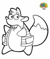 Small Picture Tico coloring pagesan important character in Dora the explorer