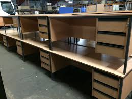 office furniture for small office. Used Straight Desks With Drawers Office Furniture For Small