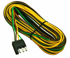 amazon com wesbar 707261 wishbone style trailer wiring harness amazon com wesbar 707261 wishbone style trailer wiring harness 4 flat connector wesbar automotive