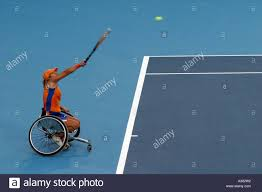 Sonja Peters of Netherlands competes in the opening round of the Stock  Photo - Alamy
