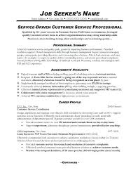 Customer Service Representative Resume Sample Awesome Customer Service Representative Resume Templates Customer Service