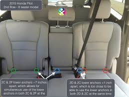 however some vehicles with a 60 40 split do have enough e between the lower anchors on the 60 side that with some binations of narrow car seats you