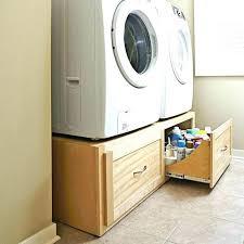 40 diy washing machine pedestal competent diy washing machine pedestal washer dryer and standard size laundry