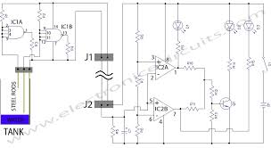 water level detector circuit diagram ireleast info water level indicator circuit diagram electronic circuits wiring circuit