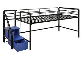 Bedding Full Size Bed Queen Loft Bed With Storage Metal Bunk Beds