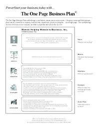 simple one page business plan template 3 year business plan template free 5 year business plan