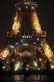 Words of wonder words of wonder: Light Up The Night Eiffel Tower Says Merci To Health Workers Wwmt