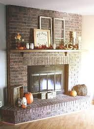 brick wall fireplace ideas trendesire me