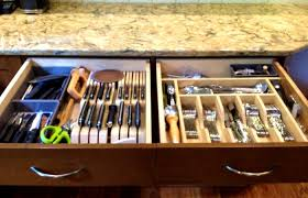 kitchen drawers medium size double tiered drawer organizer cutlery storage ideas no drawers home design camper