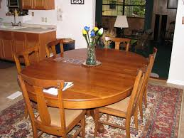 refinish dining table cost