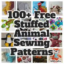 Free Stuffed Animal Patterns Interesting 48 Free Stuffed Animal Sewing Patterns AllCrafts Free Crafts Update