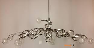 Hanglamp Wokkel 14 Lichts Staal Bloqqnl