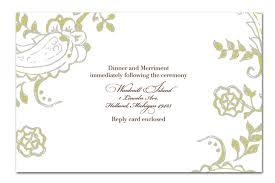 Blank Wedding Invitation Design Templates Invitation
