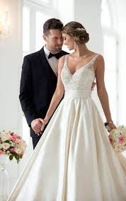 wedding dresses plus size ball gown wedding dress with sash