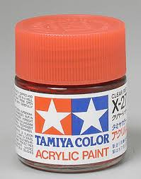 Tamiya Acrylic X27 Clear Red 3 4 Oz