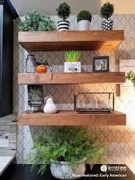 free wood floating shelves 10