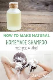 this homemade shampoo is all natural and has four ings or less depending on hair