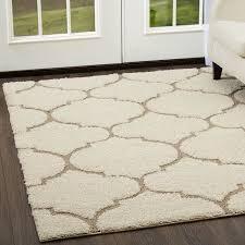 area rugs kalinowski trellis cream beige area rug