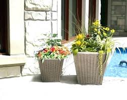 flower pots resin planters large size of patio furniture big lots costco