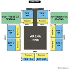 2300 Arena Seating Chart House Party 7 4 16 Card Announcement Wrestlingisreddit