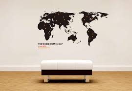 globetrotting home decor world map wall decals