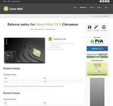 Mint Web Design March 2019 The Linux Mint Blog