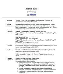 Resume For Fresher Teacher Job Resume For Teaching Job Fresher